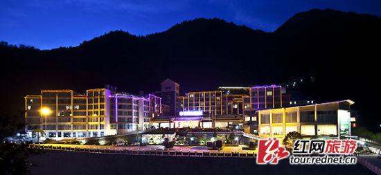 莽山森林温泉酒店夜景