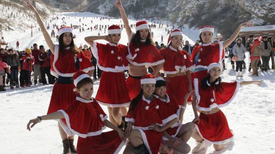 圣诞冰雪美人大咖秀