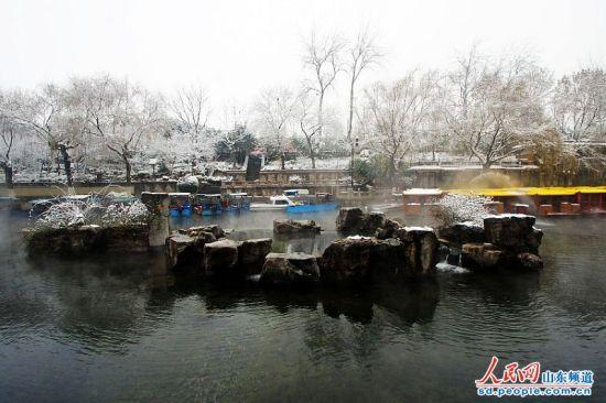 济南:雪后美景