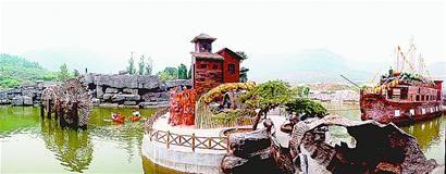 济南市重点都市农业园区之一 仲宫月亮湾农业观光园
