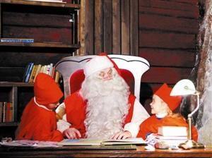 圣诞老人讲故事