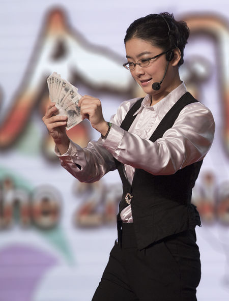 东平导游员赵星参加2012全国导游大赛