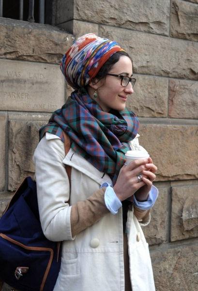 没有包头巾的人生是不完整的人生