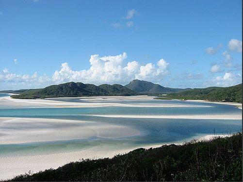 白色天堂海滩