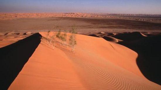 沙特阿拉伯空白之地