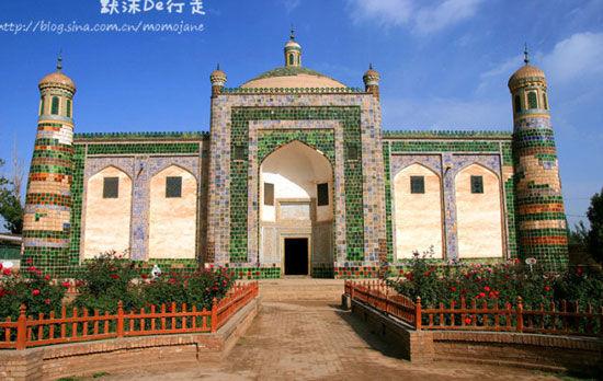 阿帕克霍加麻扎一个美丽的名字----香妃墓