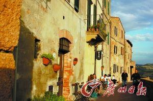 Pienza有700多年历史。