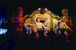 毛利人族表演