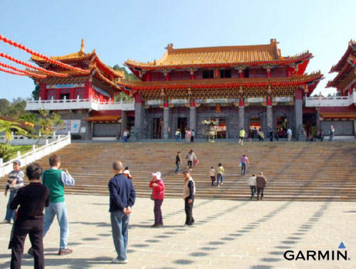 到文武庙赏湖、祈福,也是来到日月潭的重要行程之一。