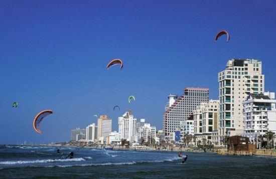 以色列特拉维夫市的海滩同样入选。