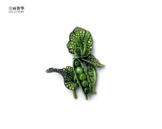 植物珠宝设计图