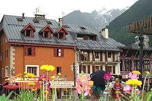 """法国的城镇多鲜花,其中依云镇被评为""""最多鲜花的城市""""。"""