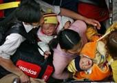 2006年,孩子被挤哭