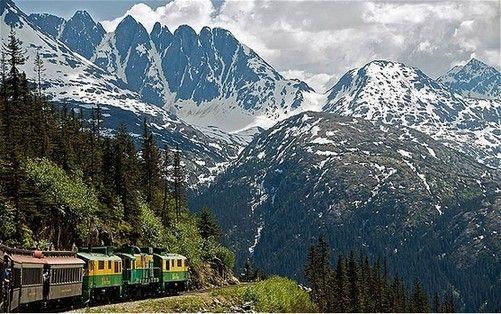 怀特通道和玉康窄轨铁路,加拿大和美国