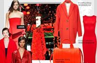 新年时尚搭配 穿出正红色气场