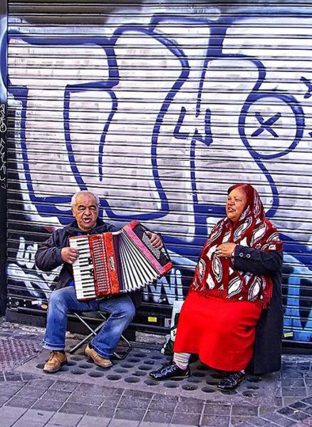 马德里街头艺术