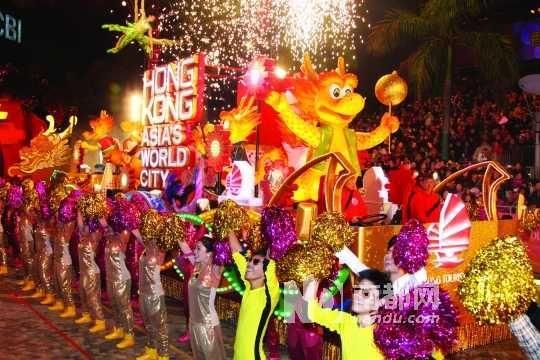 """每年的""""新春国际汇演之夜""""是春节的重头戏。"""