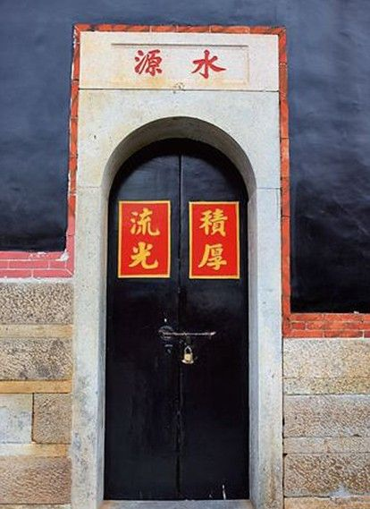 中式门户设计,美观之余还蕴含重视道德修养的含义