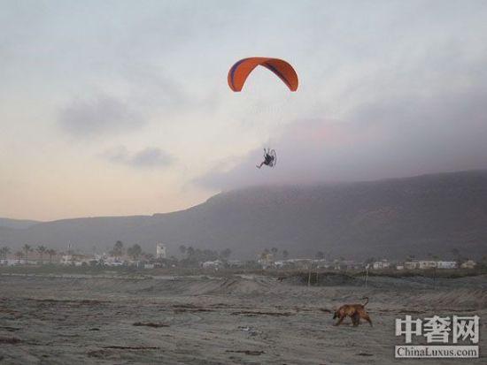 滑翔伞示例