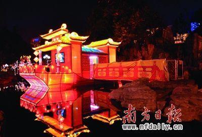 赏花灯一直是国内许多地方闹新春的重要节庆之一。
