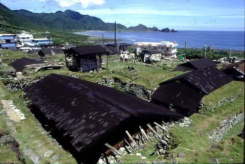 兰屿传统地下屋
