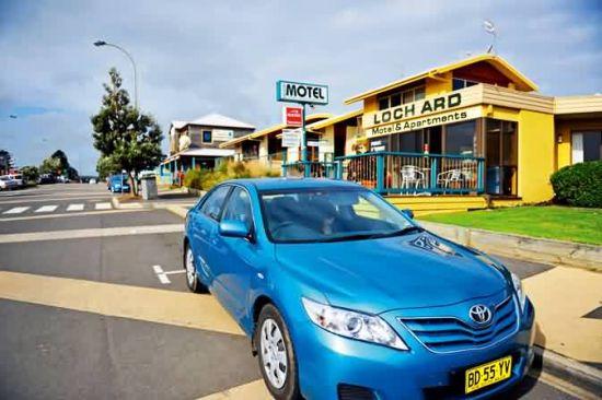 沿路有不少澳洲田园风格的小酒店