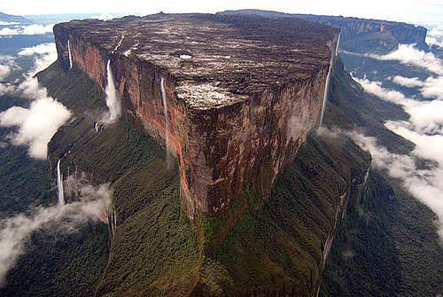 南美洲罗赖马山