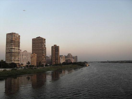 埃及开罗的扎马利克岛(Zamalek Island)