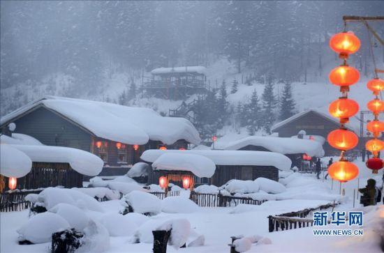 这是黑龙江双峰林场的一处旅馆。