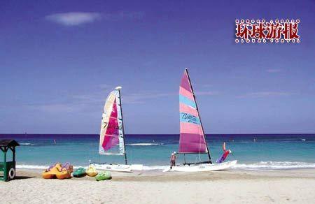 加勒比海度假