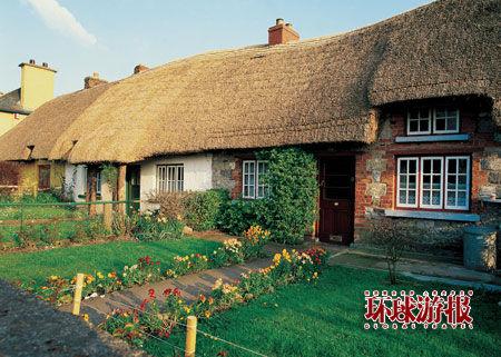 爱尔兰的乡村和城堡有味道的乡村