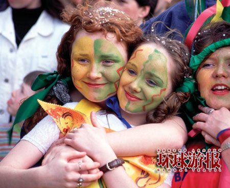 爱尔兰的节日 圣帕特里克日