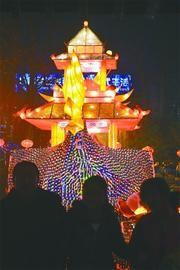 """趵突泉公园花灯可以在""""泉水节""""二次利用 记者李鹏飞 摄(资料照片)"""