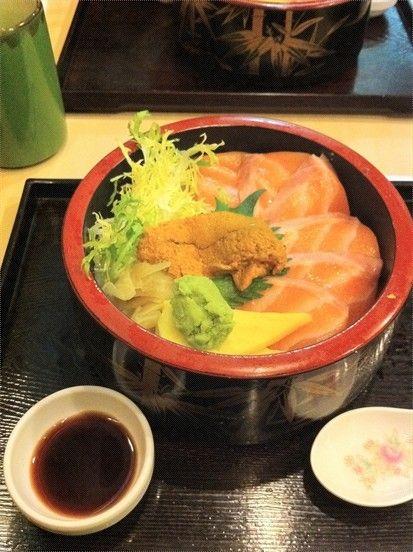三文鱼海胆饭