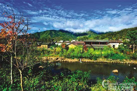 美丽的村子