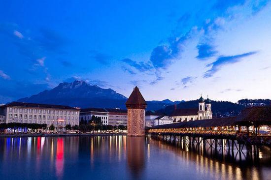 走进瑞士琉森小镇 追寻赫本结婚地