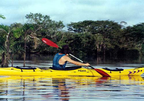 秘鲁的亚马逊皮划艇赛
