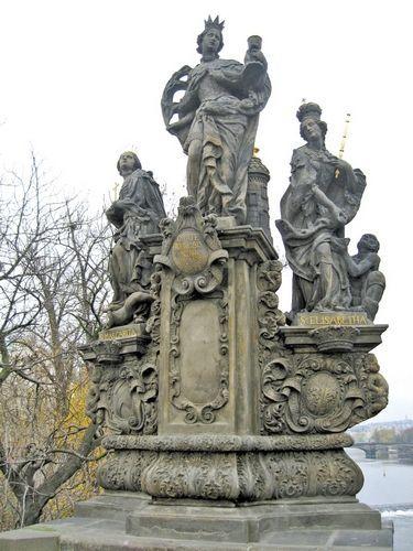 查理大桥雕塑