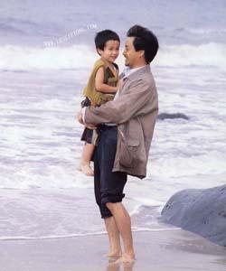 1999年《流星语》饰演落魄老爸李兆荣