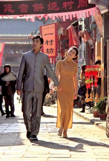 周村古商城众多影视剧组提供了绝佳的创作环境