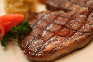 碳烤纯进口澳洲西冷牛排