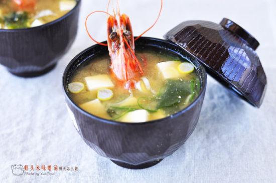 虾头米味噌汤