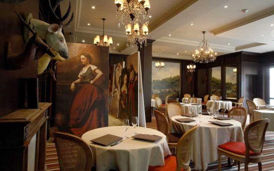 Les Etangs de Corot酒店