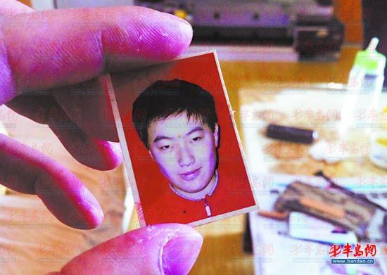 死者张林林生前照片。