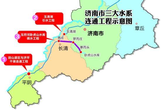 山东实现长江水和黄河水一渠联调