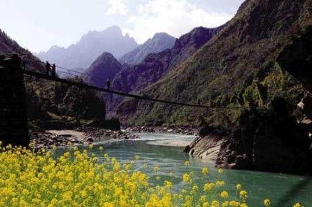 怒江人马吊桥