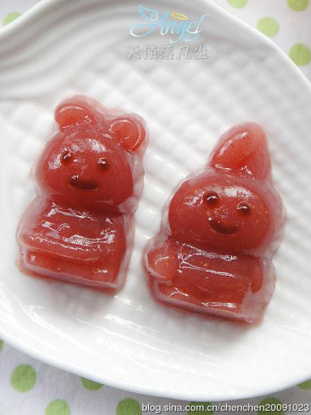 草莓血珊瑚果冻