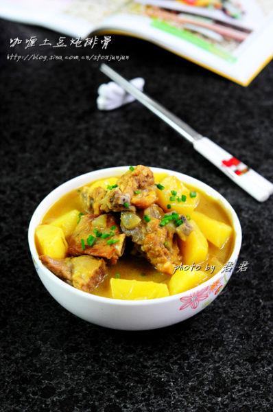 咖喱土豆炖排骨
