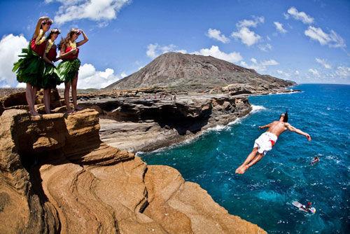 红牛悬崖 意大利著名跳水地