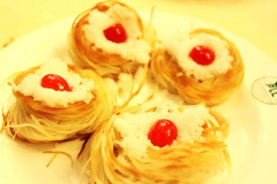 龙眼盘丝饼